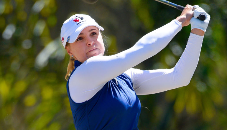 Anne-Catherine Tanguay maintenant numéro deux - Golf Canada