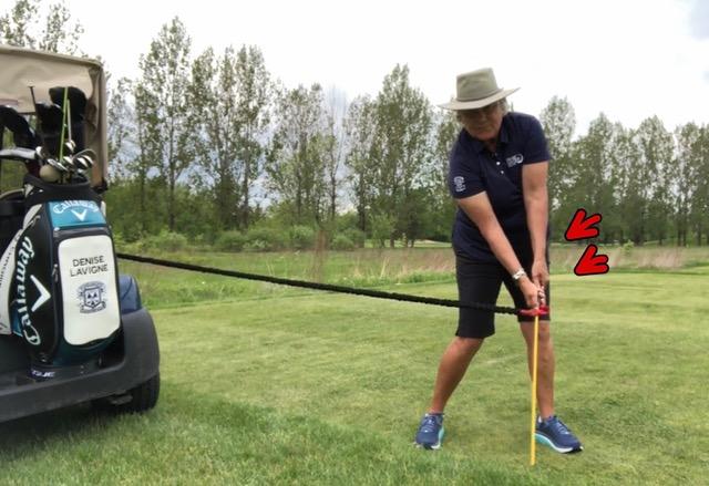 Golf tip denise lavigne